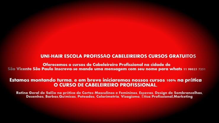 CURSOS DE CABELEIREIROS GRATUITOS ONLINE 00