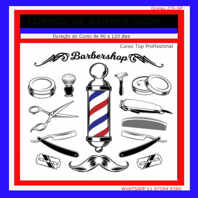 Sem Curso de Barber Shop Top Profissional