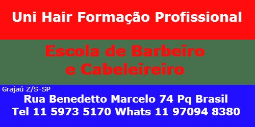 UNI HAIR ESCOLA DE BARBEIRO E CABELEIREIRO