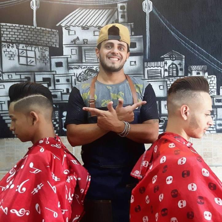 Felipe Deltas Instrutor Barber