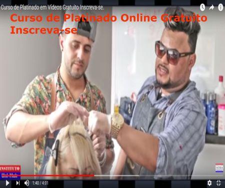 Curso de Platinado Gratuito Online.
