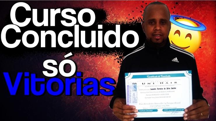 Leandro Ferreira Ex Aluno de Barbeiro Instituto Uni-Hair