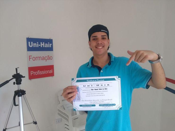 Aluno Vitor Manoel